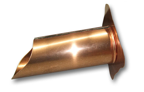 Copper Water Spout