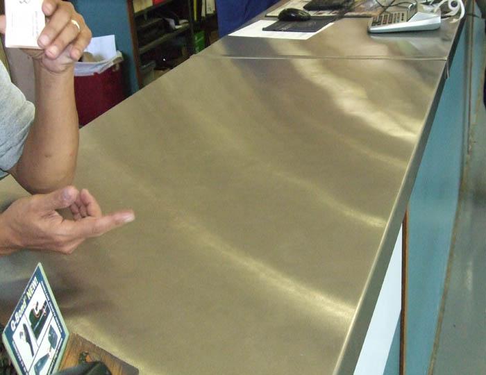 Quick Custom Metals Counter Tops